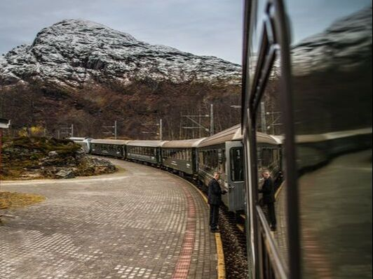 Sightseeing rail routes in Norway