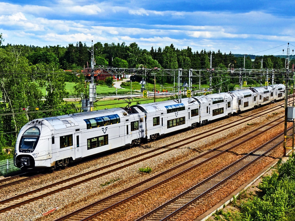 International trains in Norway